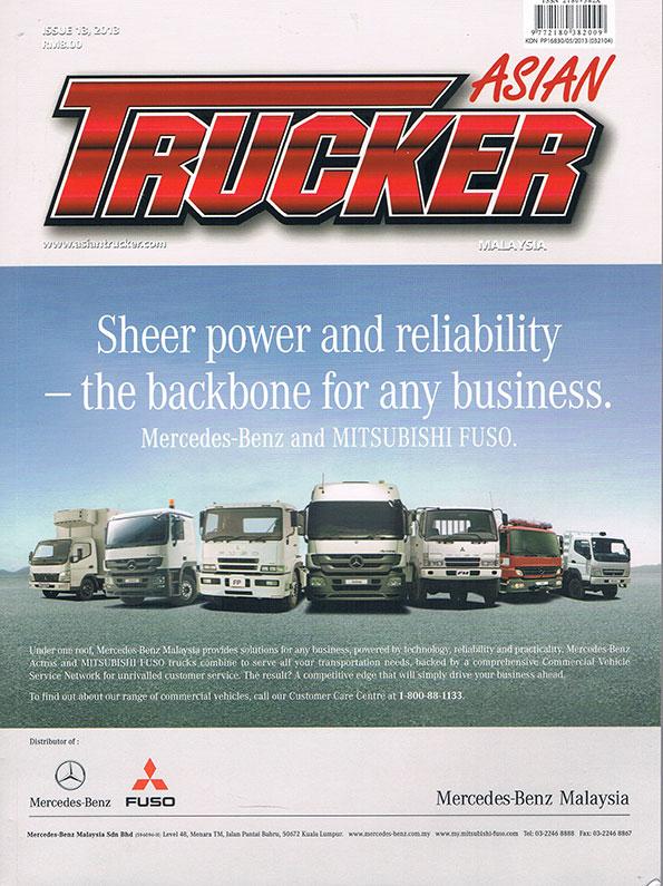 Asian Trucker Vol. 13